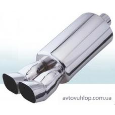 Прямоточный глушитель CarEx YFX-0639