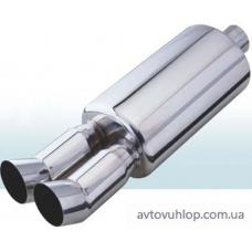 Прямоточный глушитель CarEx YFX-0640