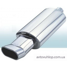Прямоточний глушник CarEx YFX-0650