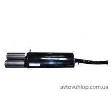 Прямоточный глушитель ЮТАС (ВАЗ-2108,09, Twin-Sport)